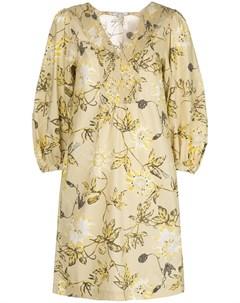 Платье рубашка с цветочным принтом Dorothee schumacher