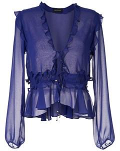 блузка Ravena с оборками Olympiah