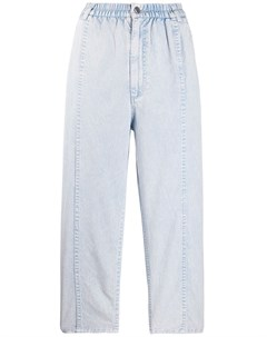 укороченные брюки с эластичным поясом Rachel comey