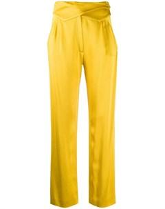 брюки с широкой вставкой на поясе Blazé milano