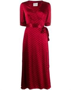 платье Belle с запахом и принтом Cecilie copenhagen
