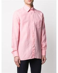 Рубашка с заостренным воротником Canali