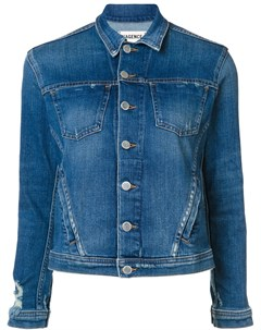 Джинсовая куртка на пуговицах L'agence