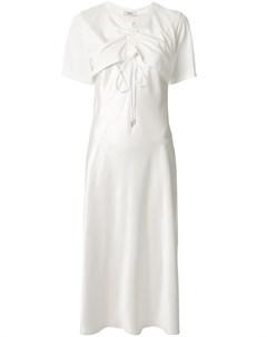 Расклешенное платье с вырезами Goen.j
