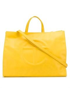сумка тоут с тисненым логотипом Telfar