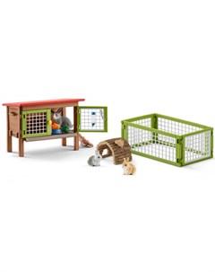 Игровой набор Клетка для кроликов Schleich