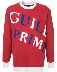 свитер с принтом логотипа Guild prime