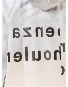Дождевик с логотипом Proenza schouler white label