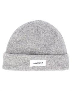 Двухслойная шапка бини Villy Soulland