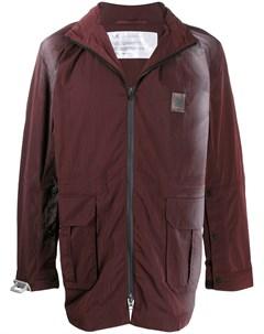 пальто на молнии с эффектом омбре Oakley by samuel ross