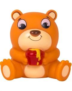 Медвежонок Берни игрушка для ванной Happy snail