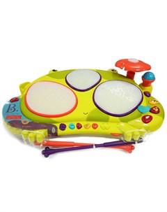 Музыкальная игрушка Мульти барабан Лягушка 68800 B.toys