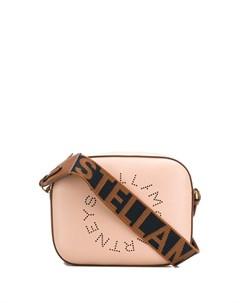 Мини сумка через плечо с логотипом Stella mccartney