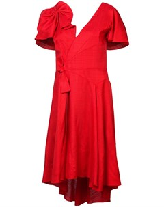Платье с бантом Delpozo