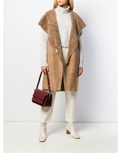 Пальто с капюшоном и рукавами кап Herno