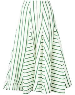 Расклешенная юбка в полоску Rosie assoulin