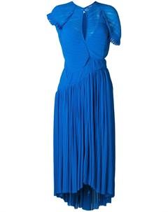 Расклешенное платье Myra Preen by thornton bregazzi
