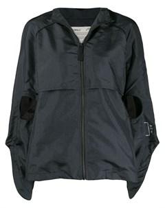 Куртка с капюшоном и вырезными деталями A-cold-wall*