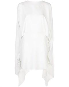 Платье с асимметричным подолом Paula knorr