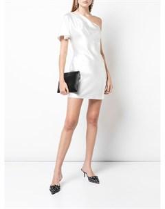 Короткое платье на одно плечо Fleur du mal