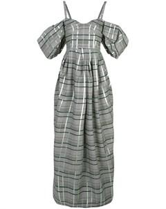 Вечернее платье с открытыми плечами Rosie assoulin