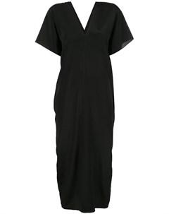 Платье миди с короткими рукавами Voz