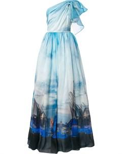 Вечернее платье Valencia с принтом Isabel sanchis