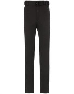 прямые брюки с ремнем Prada
