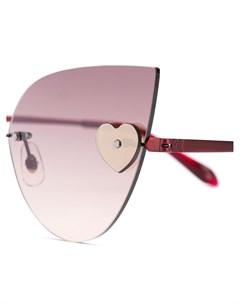 Солнцезащитные очки Loree Rodkin Kiss Sama eyewear