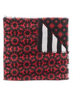 Шарф с геометричным принтом Haider ackermann