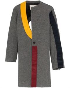 Пальто с контрастной вставкой A-cold-wall*