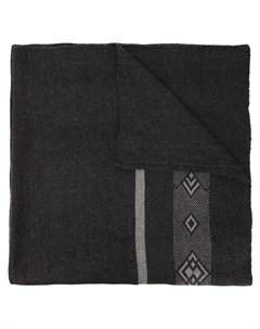 Шарф одеяло с узором Voz