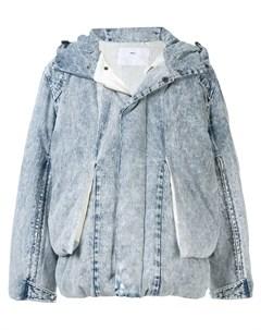 Джинсовая куртка с капюшоном Toga virilis