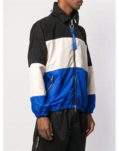 Полосатая куртка в спортивном стиле Daniel patrick