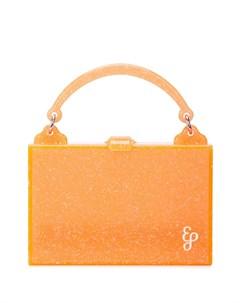 Маленькая каркасная сумка Edie parker