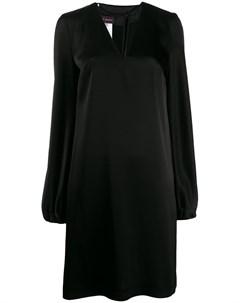 Расклешенное платье с V образным вырезом Talbot runhof