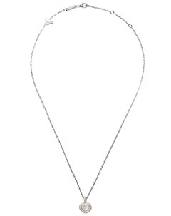 Колье Happy Hearts из белого золота с бриллиантами Chopard