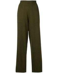 Широкие трикотажные брюки Barrie