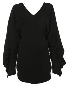 Расклешенное платье с V образным вырезом Paula knorr