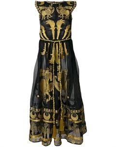 Платье с вышивкой Dayspring Horse Yuliya magdych