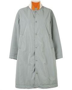 Комбинированное пальто Undercover