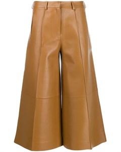 Укороченные брюки палаццо Rokh