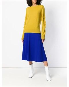 Кашемировый пуловер Romantic Timeless с круглым вырезом Barrie