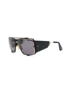 Массивные солнцезащитные очки Souliner Two Dita eyewear