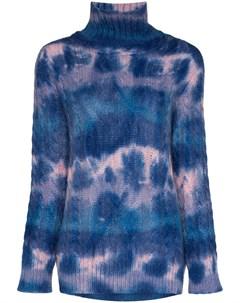 Трикотажный свитер с высоким воротником Moncler grenoble