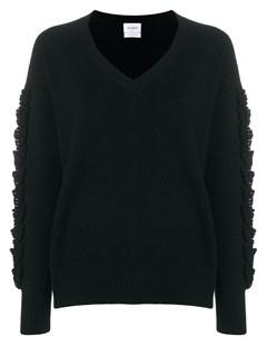 Пуловер Troisieme Dimension с V образной горловиной Barrie