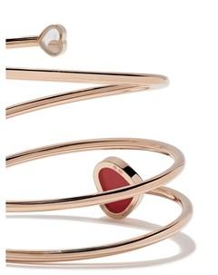 Браслет Happy Hearts из розового золота с бриллиантом Chopard