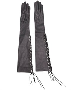 перчатки на шнуровке Unravel project