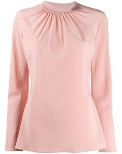 Блузка с присборенным воротником Agnona