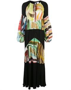 Платье макси Sutter с абстрактным принтом Rosie assoulin